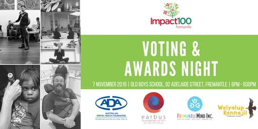 Impact100 Fremantle 2019 Voting & Awards Night