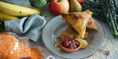 Cookery workshop - An evening of making delicous family treats with the Perfect Samosa Team