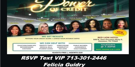 Power of Credit-North -Felicia Guidry tickets