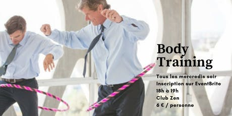 Body Training avec NP6 // 25.09.19 billets