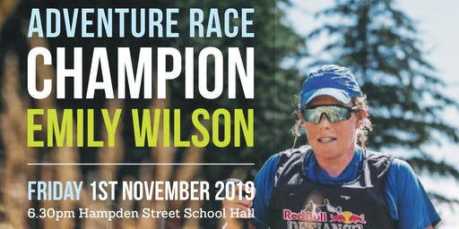 An Evening with Adventure Racer Emily Wilson - Fundraiser