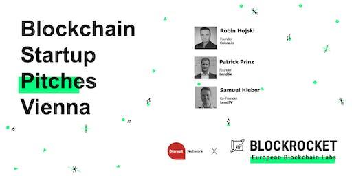 Blockchain Startup Pitches - Vienna