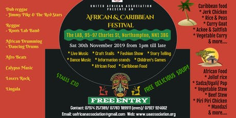 African and Caribbean Festival tickets