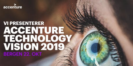 Accenture Technology Vision 2019 tickets
