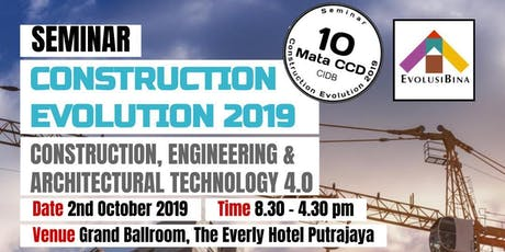 Seminar Construction Evolution 2019 tickets