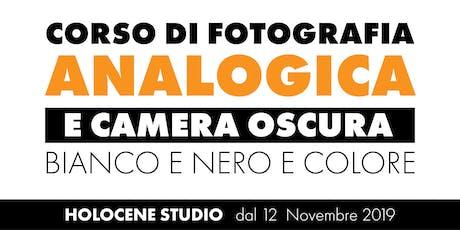 Corso di Fotografia Analogica - Seconda Edizione biglietti