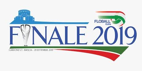 Torneo Nazionale Floball Italia 2019 biglietti
