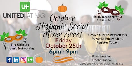 United Latinas - October's Ultimate Hispanic Networking Social Mixer Event tickets