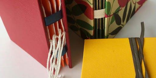 Bookbinding workshop - Christmas theme with Frances Douglas