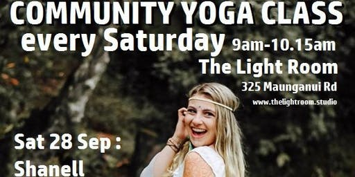 Community Yoga Class - with Shanell Peterson - Sat28Sep