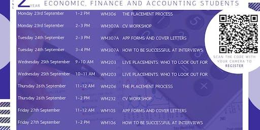 CV Workshop (EFA Second Year Only)