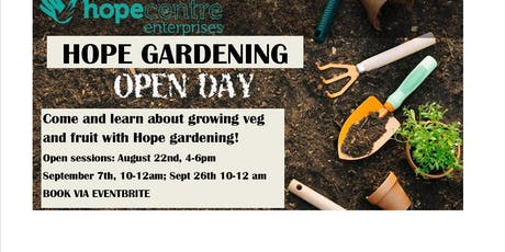Grow your own veg at home tickets