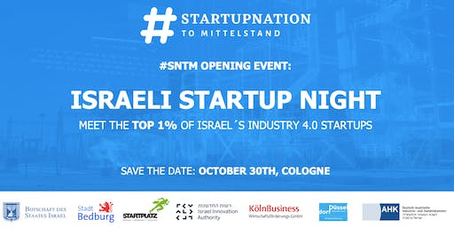 #SNTM Opening Event - Israeli Startup Night