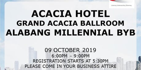 ALABANG MILLENNIAL BUILD YOUR BUSINESS tickets
