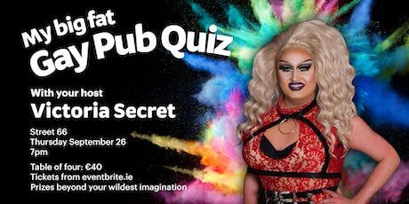 My Big Fat Gay Pub Quiz tickets