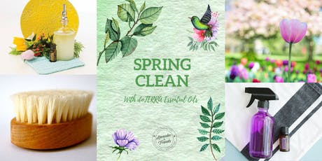 Spring Clean with essential oils tickets