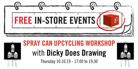 Spray Can Upcycling Workshop tickets
