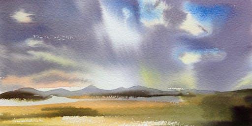 Watercolour workshop – Introduction to watercolour with Frances Douglas