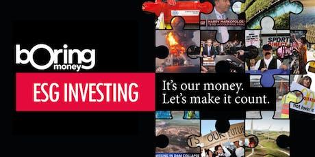 ESG Investing Seminar tickets