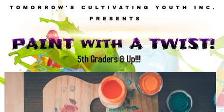 TCY Paint with a Twist tickets