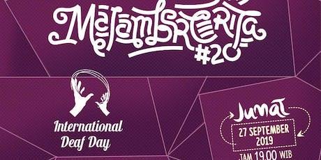 Malam Bercerita#20 -International Deaf Day : Hak Bahasa Isyarat untuk Semua tickets