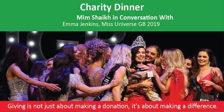 In conversation with Miss Universe GB & Qawwali performance tickets