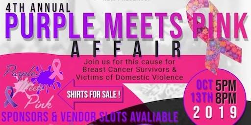 4th Annual Purple Meets Pink Affair