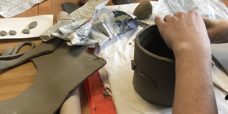 Introduction to handbuilt pottery tickets