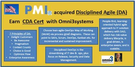 CXP-Certified Disciplined Agilist-(CDA) eXam Prep [CXP] - Bloomington-Illinois tickets
