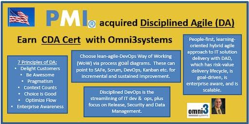 CXP-Certified Disciplined Agilist-(CDA) eXam Prep [CXP] - Bloomington-Illinois