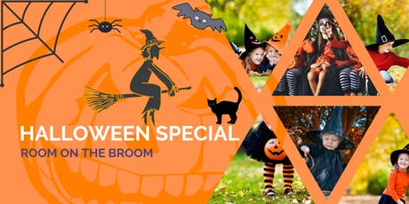 HALLOWEEN SPECIAL:  A 'Room on the Broom' inspired adventure tickets