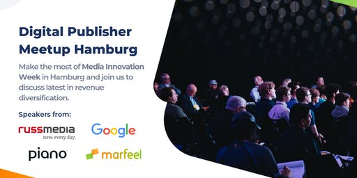 Digital Publisher Meetup: Reader Revenues, Hamburg
