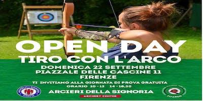 Open Day Arcieri della Signoria, prova gratuita di tiro con l'arco.