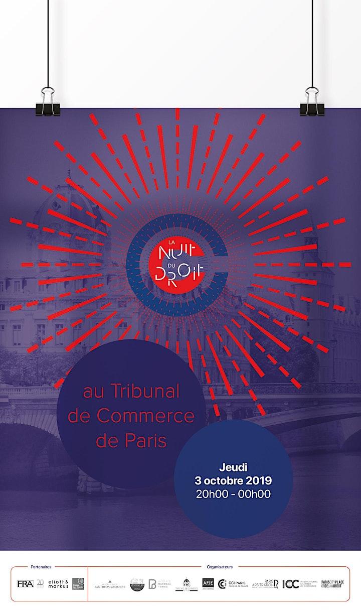 Image pour LA NUIT DU DROIT AU TRIBUNAL DE COMMERCE DE PARIS