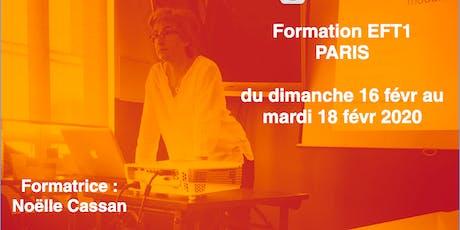 FORMATION EFT1 Paris février 2020 billets