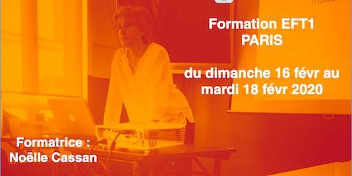 FORMATION EFT1 Paris février 2020