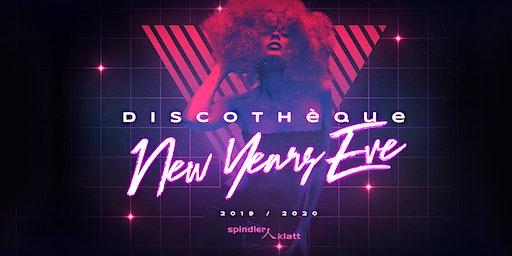 Discothéque   New Years Eve 19-20   Spindler & Klatt