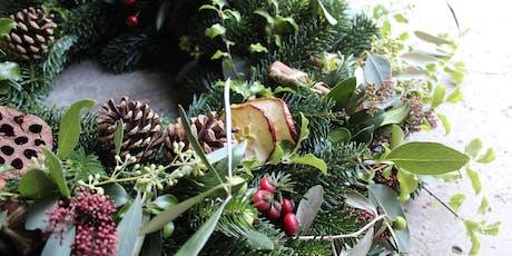 Luxury Wreath Making Workshop With Gin!!  tickets