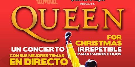 QUEEN FOR CHRISTMAS - Granada entradas