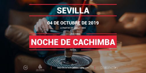Noche de Cachimba en Pause&Play Los Alcores