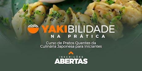 Curso de Culinária Japonesa em São Paulo - Pratos Quentes ingressos
