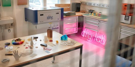 Lasercutter Intro-Workshop in der Life Science Factory Tickets