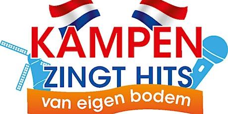 Kampen zingt hits van eigen bodem. tickets