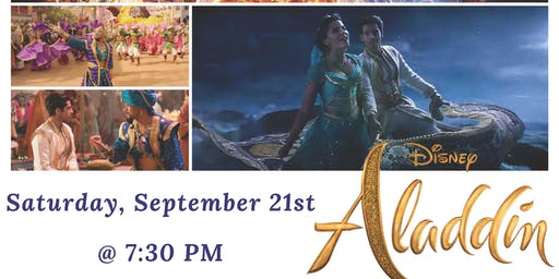 Outdoor Movie Night Presents Disney Aladdin