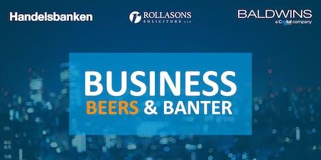 Business, Beer & Banter tickets