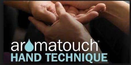 Atelier Aromatouch, séance bien-être des mains billets
