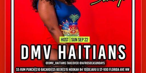 DMV Haitians Host @AfroSocaSundays|SUYA|FREE ENTRY|$5 RumPunch|$15 Hookah|$10 Drinks