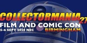 Collectormania 27: Film & Comic Con Birmingham 2020