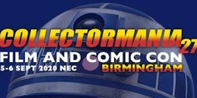 Collectormania 27: Film & Comic *** Birmingham 2020