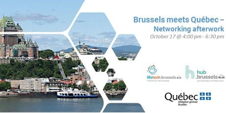 Brussels meets Québec - Networking afterwork tickets